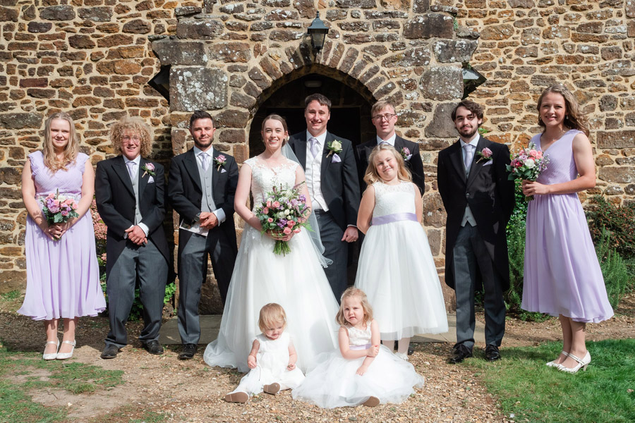 Michaela and Rupert's Dorset church wedding, image credit Dom Brenton Photography (21)