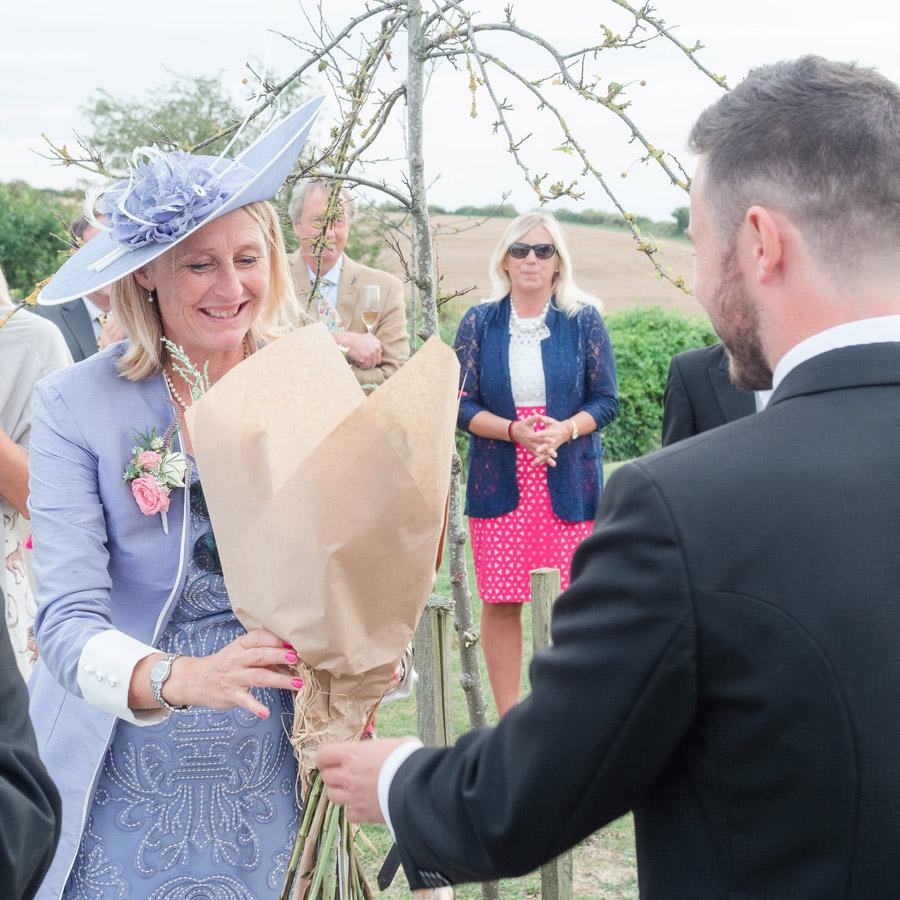 Michaela and Rupert's Dorset church wedding, image credit Dom Brenton Photography (34)