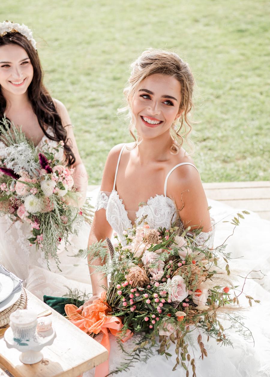 Hertfordshire Boho Themed Styled Wedding Shoot, photographer credit Absolute Photo UK (8)