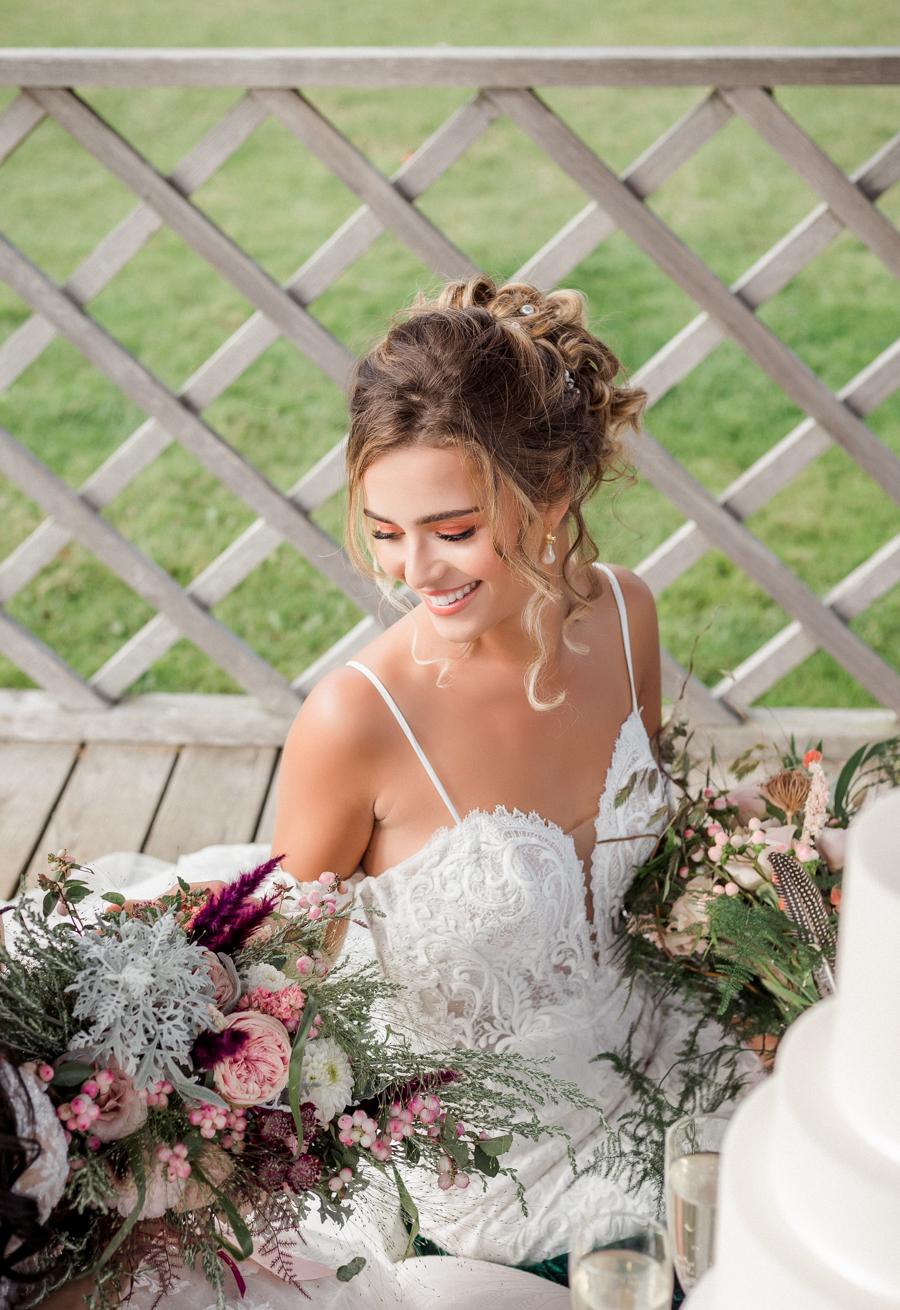 Hertfordshire Boho Themed Styled Wedding Shoot, photographer credit Absolute Photo UK (10)