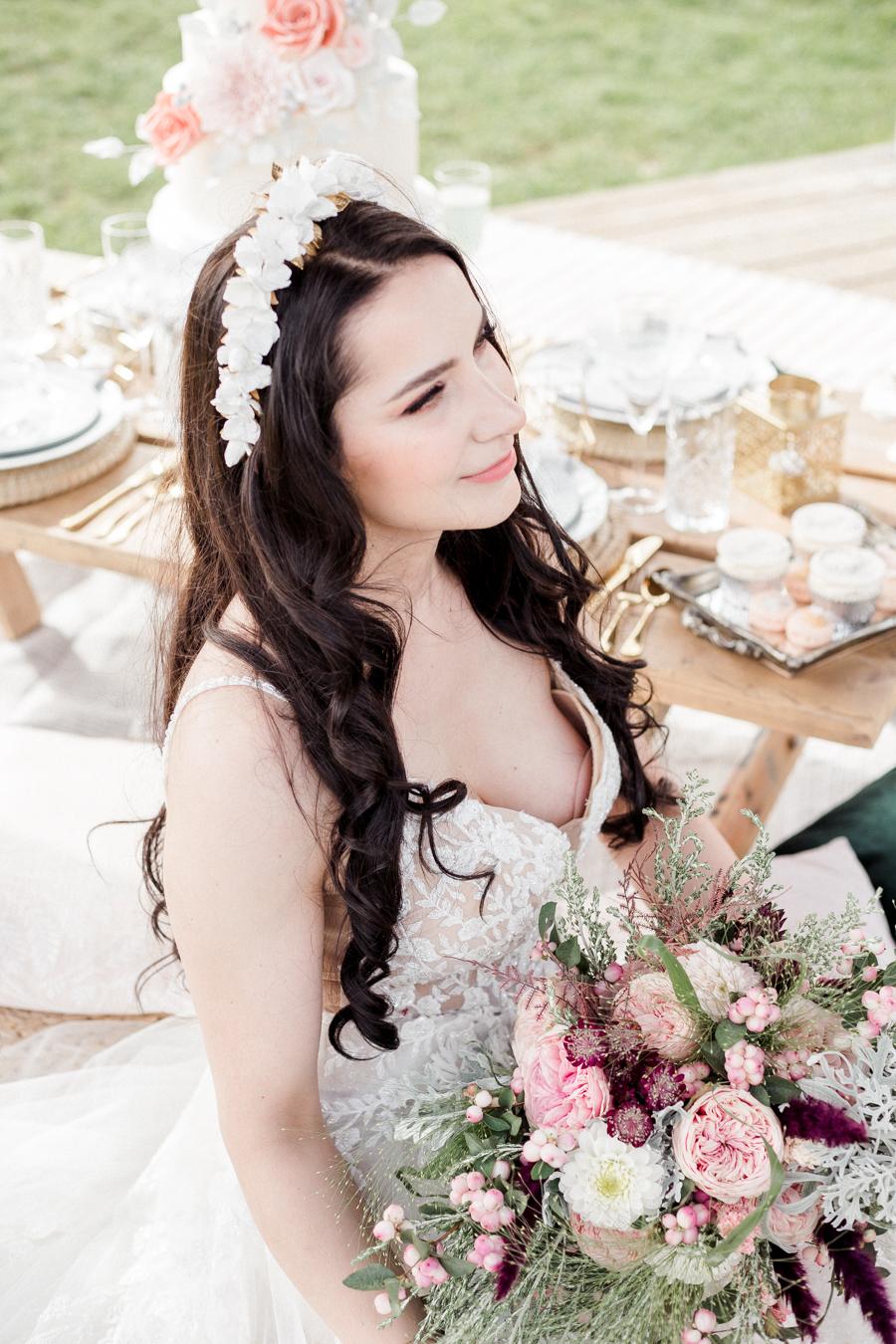 Hertfordshire Boho Themed Styled Wedding Shoot, photographer credit Absolute Photo UK (12)