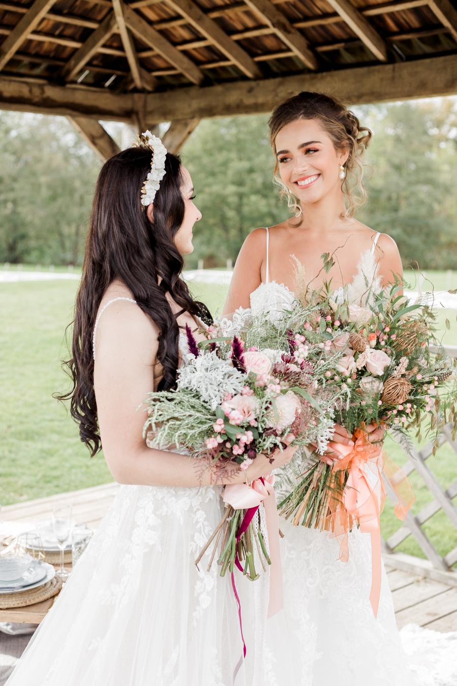 Hertfordshire Boho Themed Styled Wedding Shoot, photographer credit Absolute Photo UK (18)