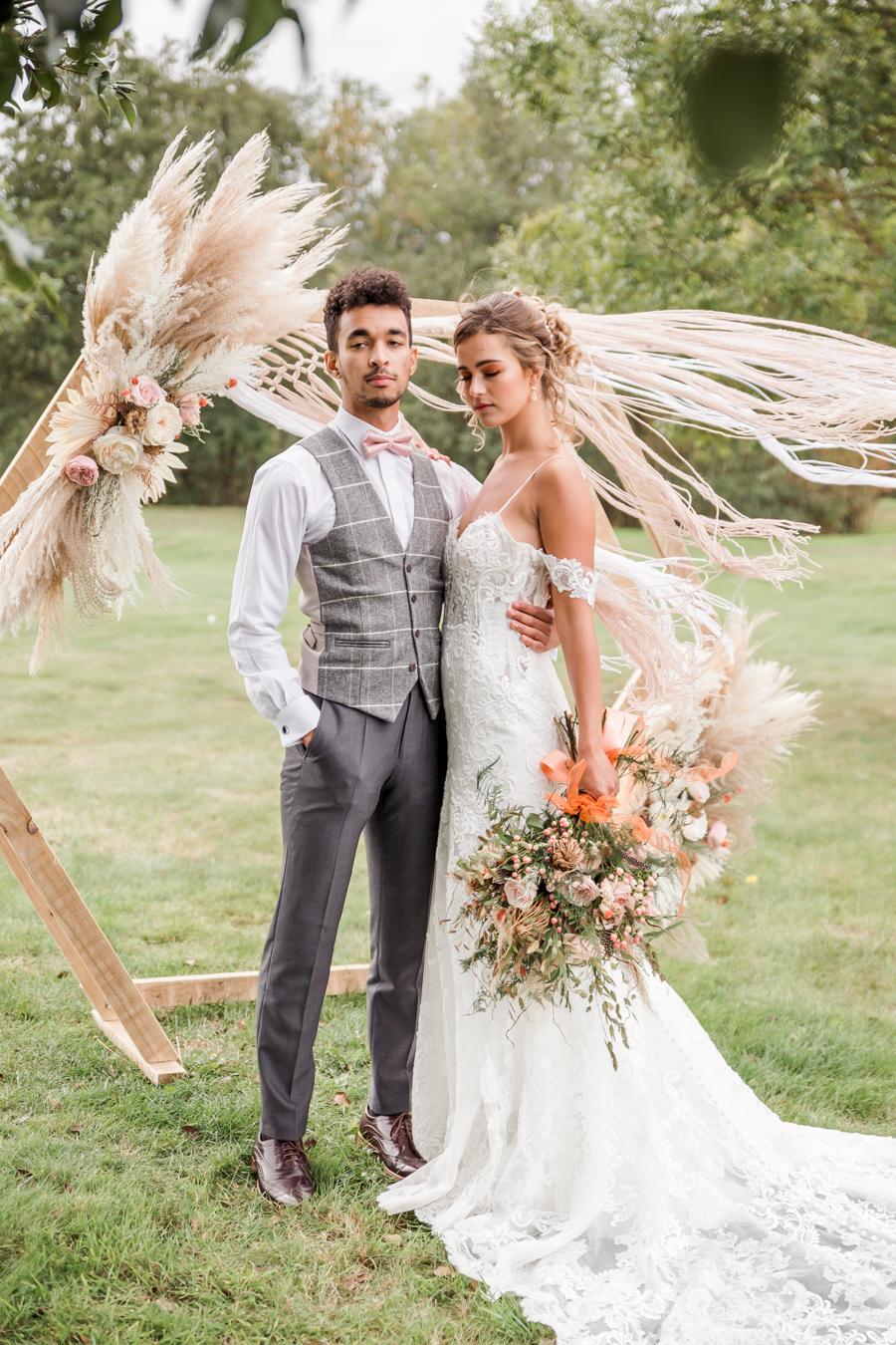 Hertfordshire Boho Themed Styled Wedding Shoot, photographer credit Absolute Photo UK (25)