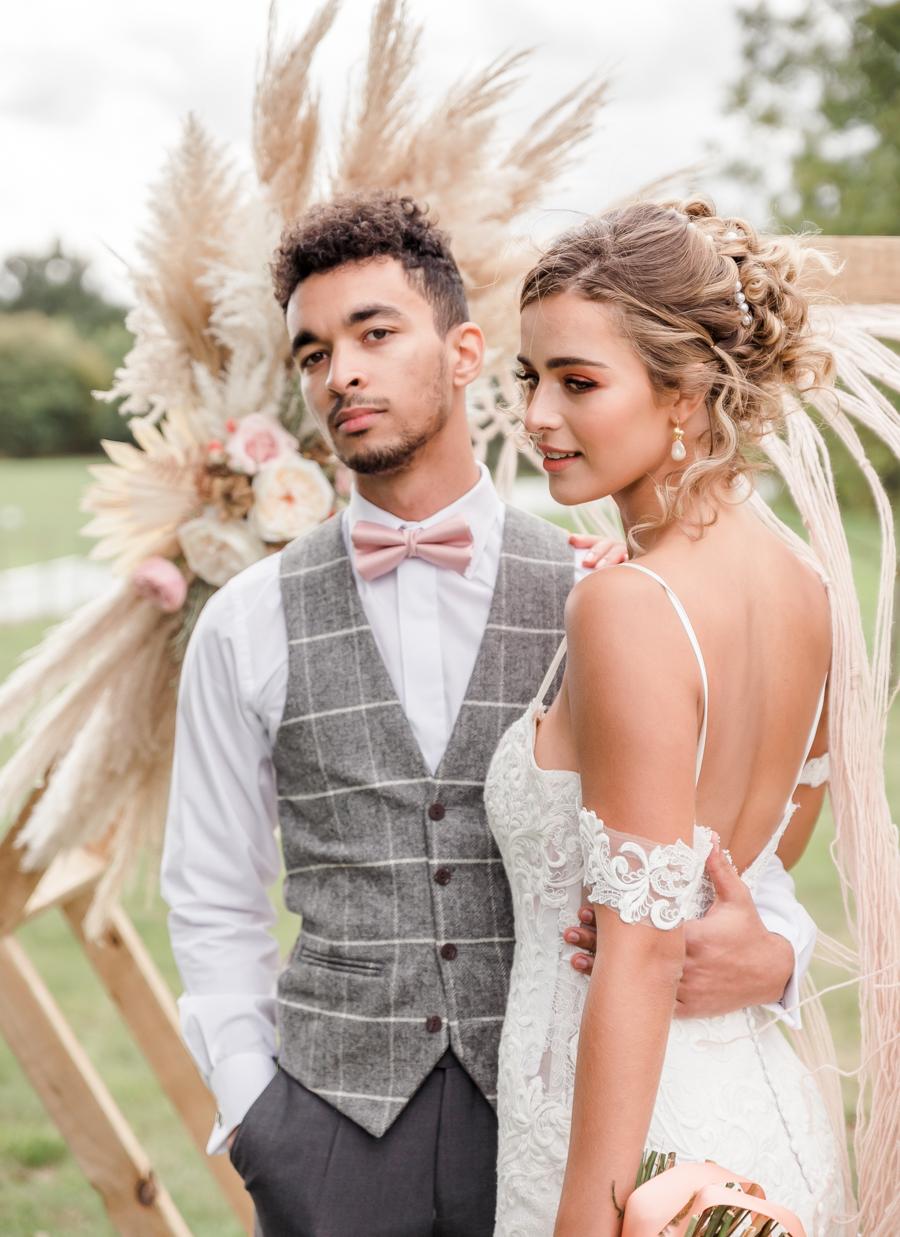 Hertfordshire Boho Themed Styled Wedding Shoot, photographer credit Absolute Photo UK (26)