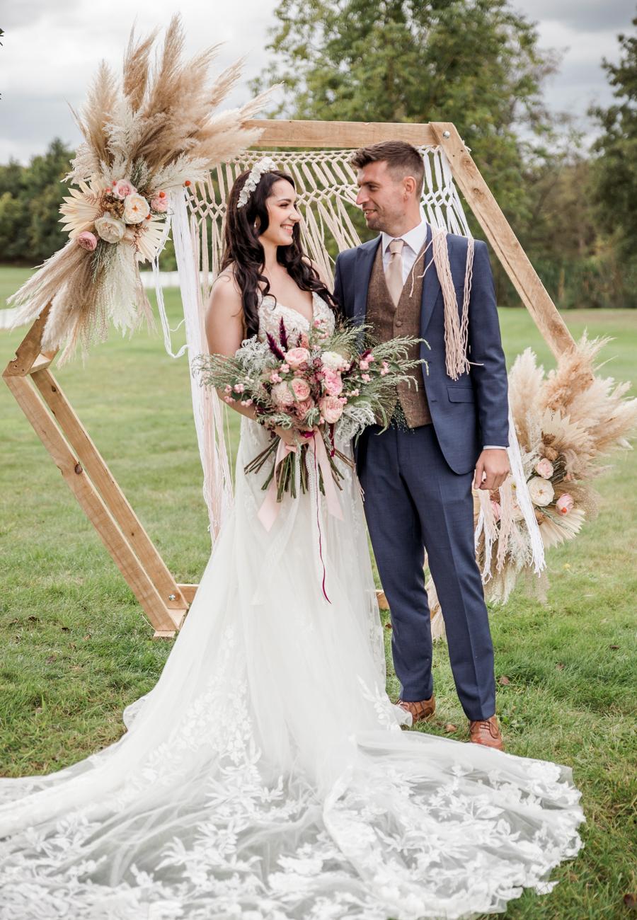 Hertfordshire Boho Themed Styled Wedding Shoot, photographer credit Absolute Photo UK (28)