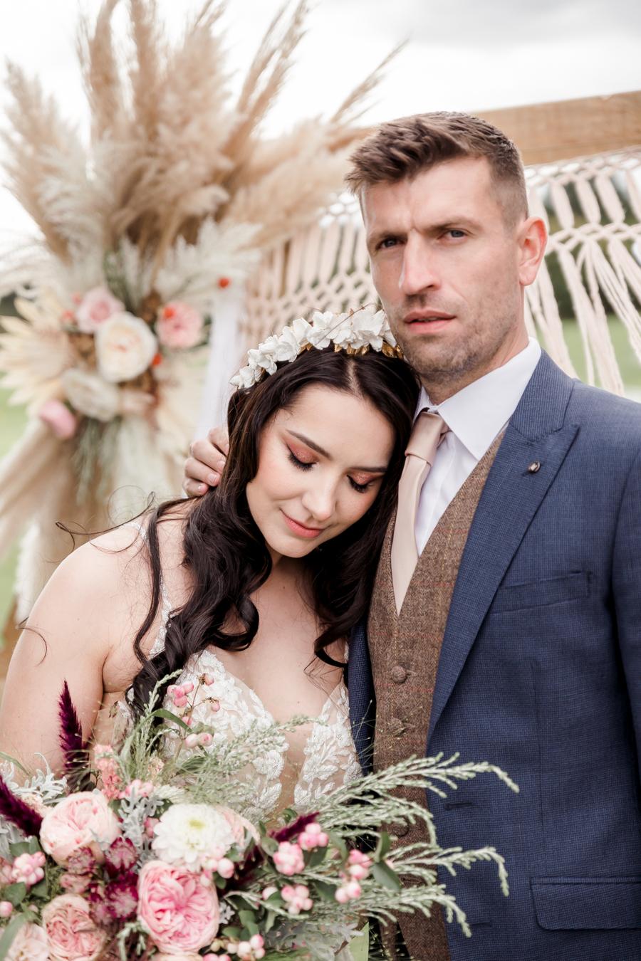 Hertfordshire Boho Themed Styled Wedding Shoot, photographer credit Absolute Photo UK (29)