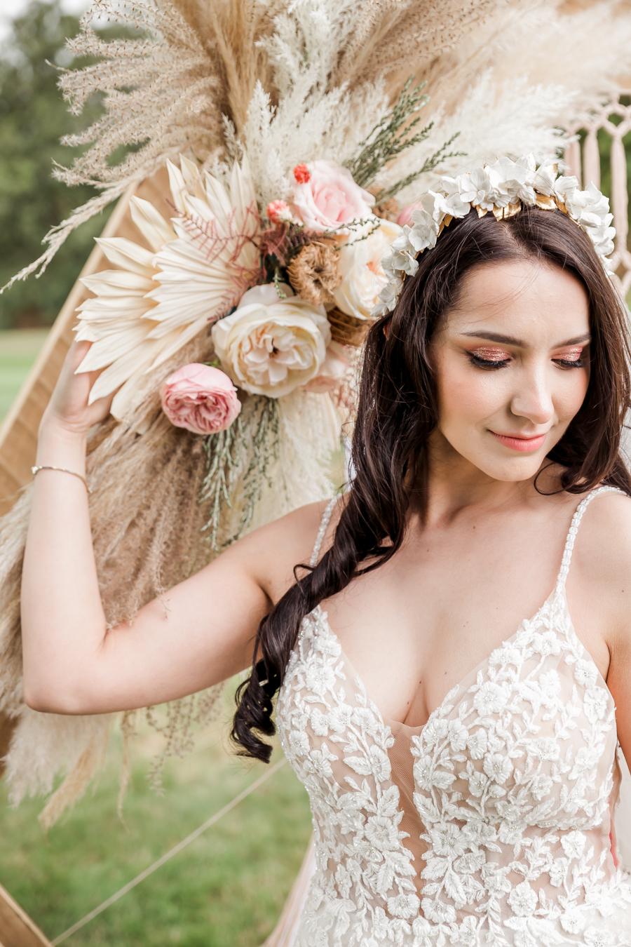 Hertfordshire Boho Themed Styled Wedding Shoot, photographer credit Absolute Photo UK (31)