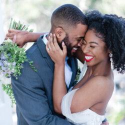 Luxury springtime garden wedding inspiration