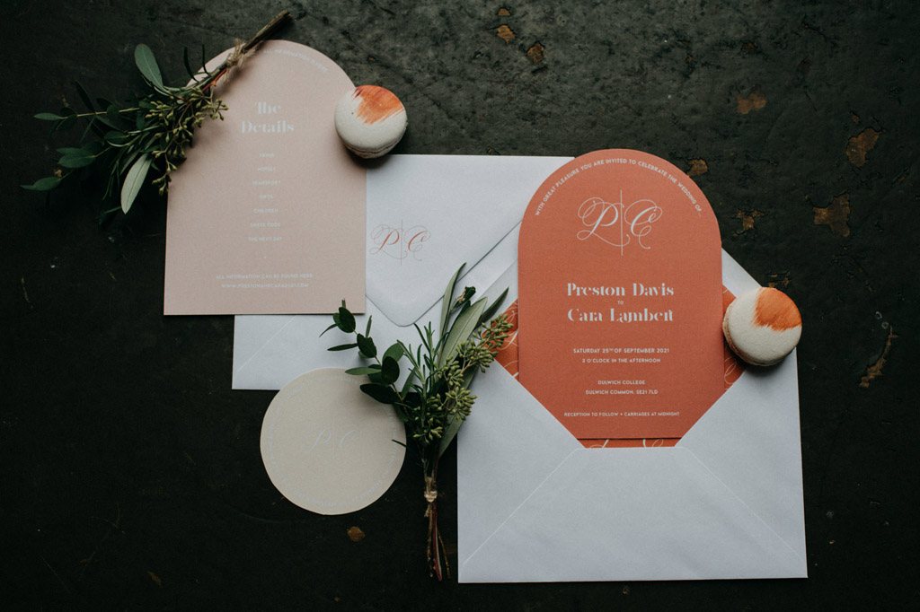 Traditional wedding inspiration with a modern twist, image credit Lottie Photography (2)