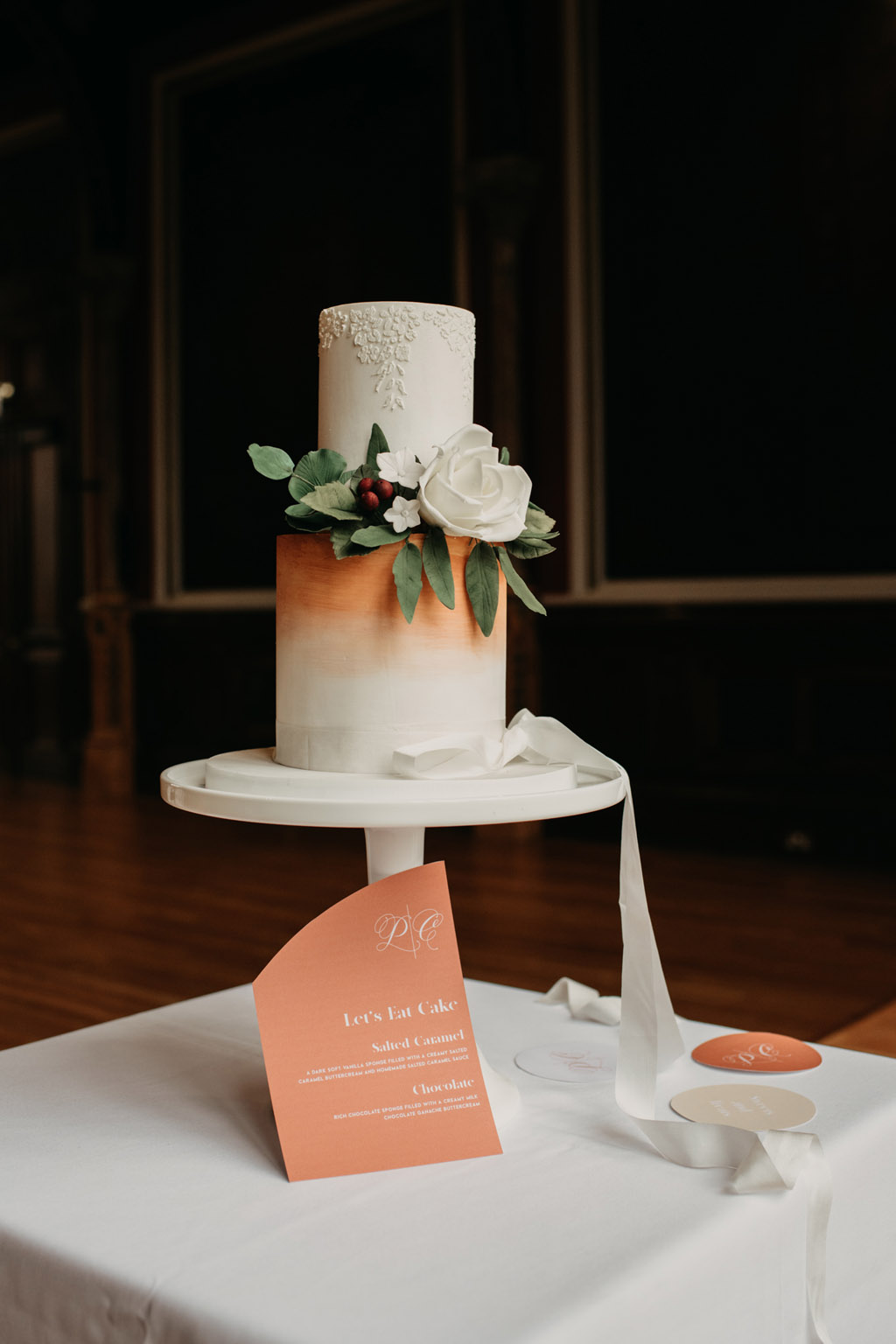 Traditional wedding inspiration with a modern twist, image credit Lottie Photography (5)