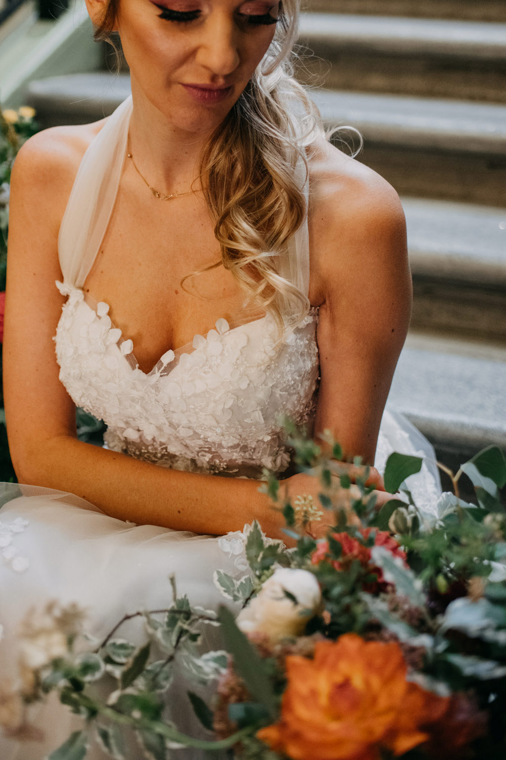 Traditional wedding inspiration with a modern twist, image credit Lottie Photography (12)