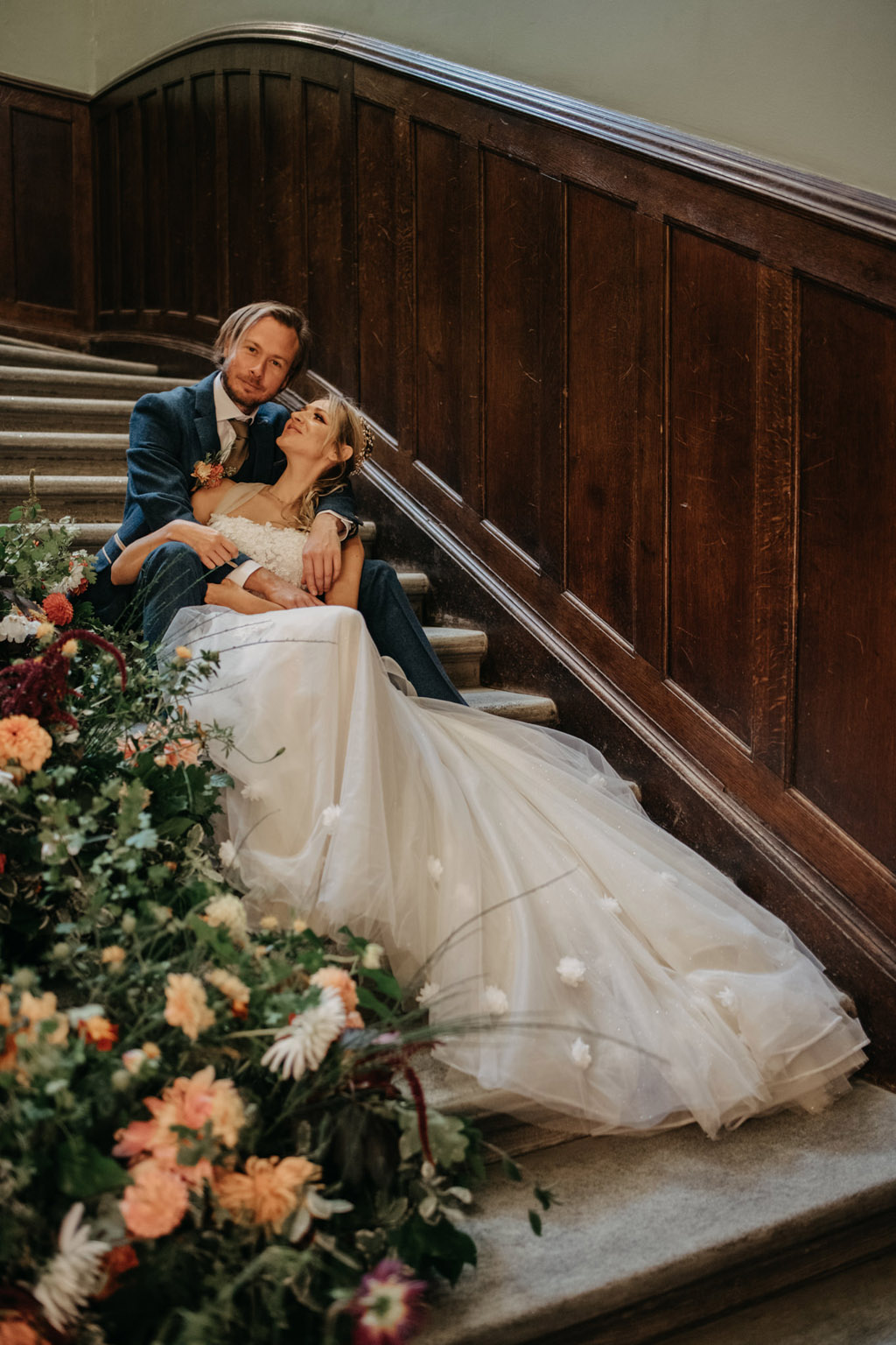 Traditional wedding inspiration with a modern twist, image credit Lottie Photography (13)