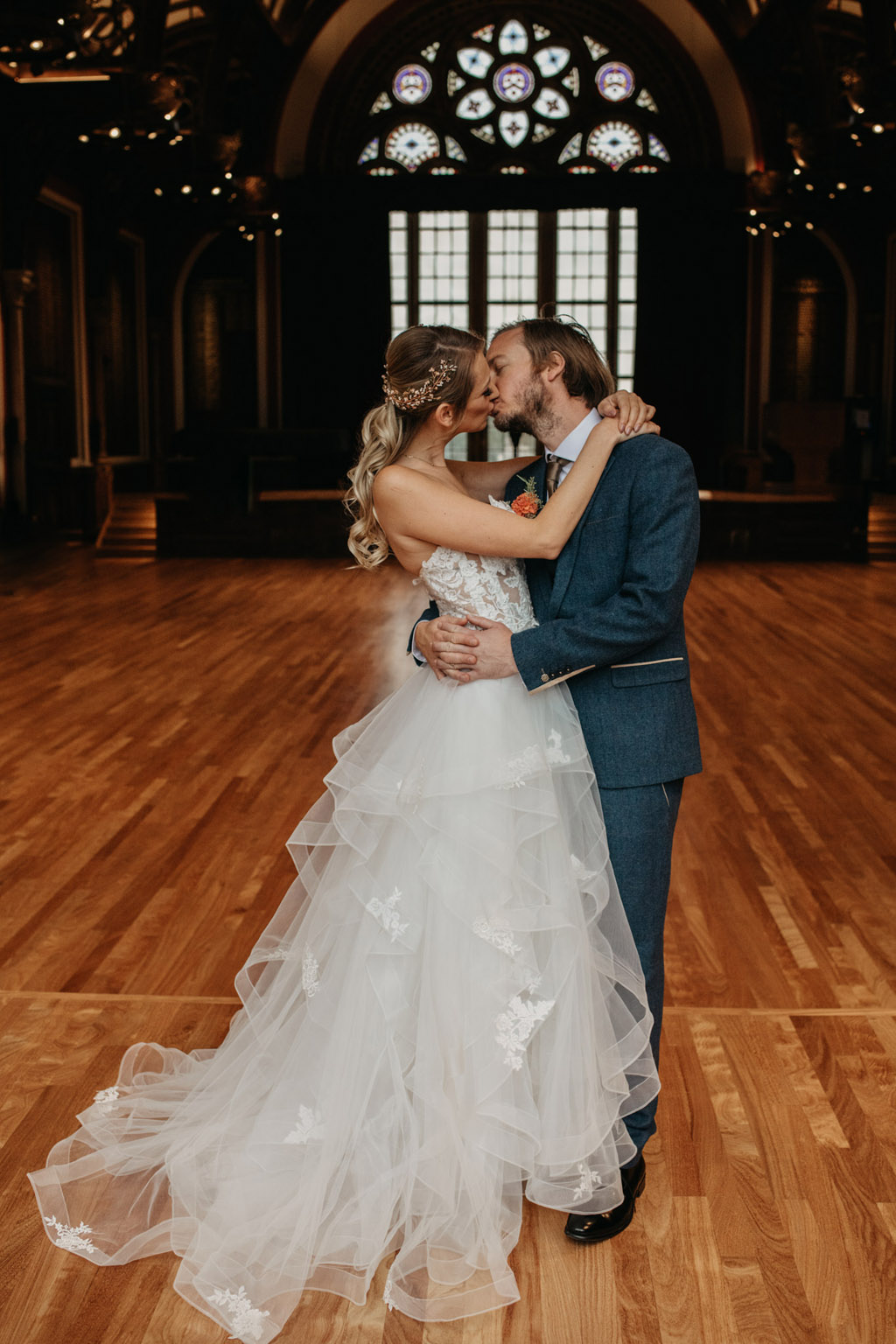 Traditional wedding inspiration with a modern twist, image credit Lottie Photography (15)