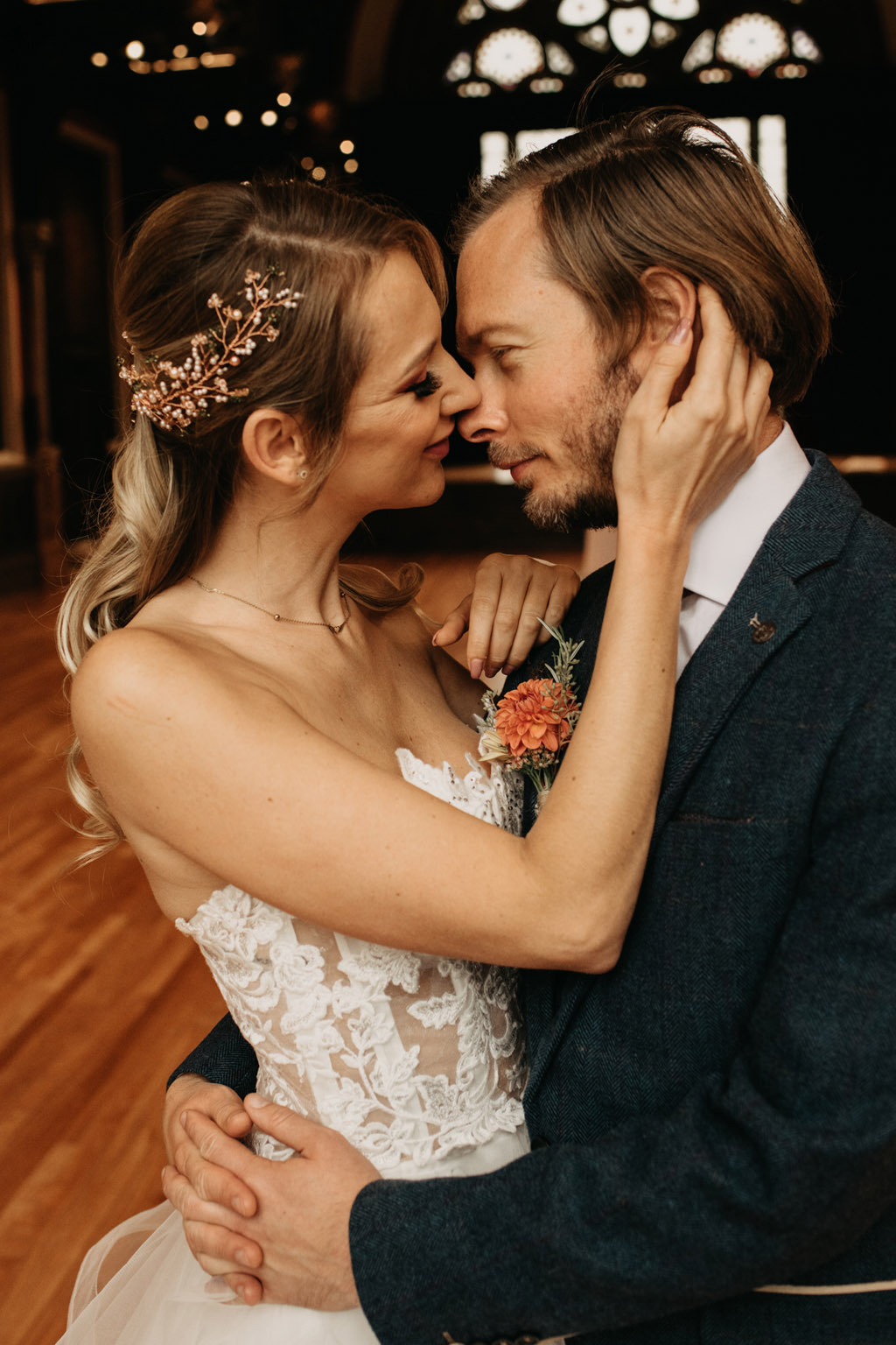 Traditional wedding inspiration with a modern twist, image credit Lottie Photography (16)