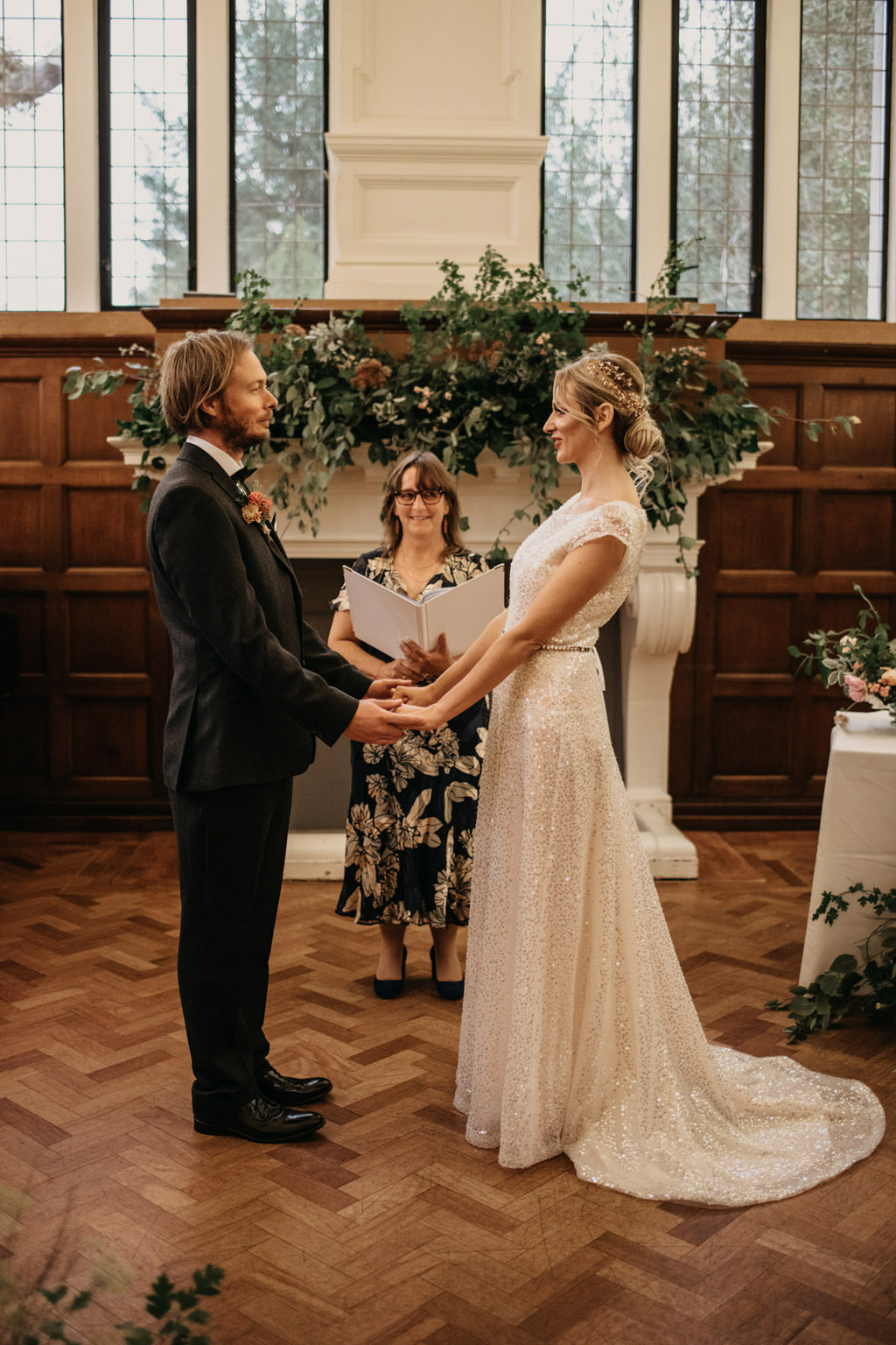 Traditional wedding inspiration with a modern twist, image credit Lottie Photography (28)