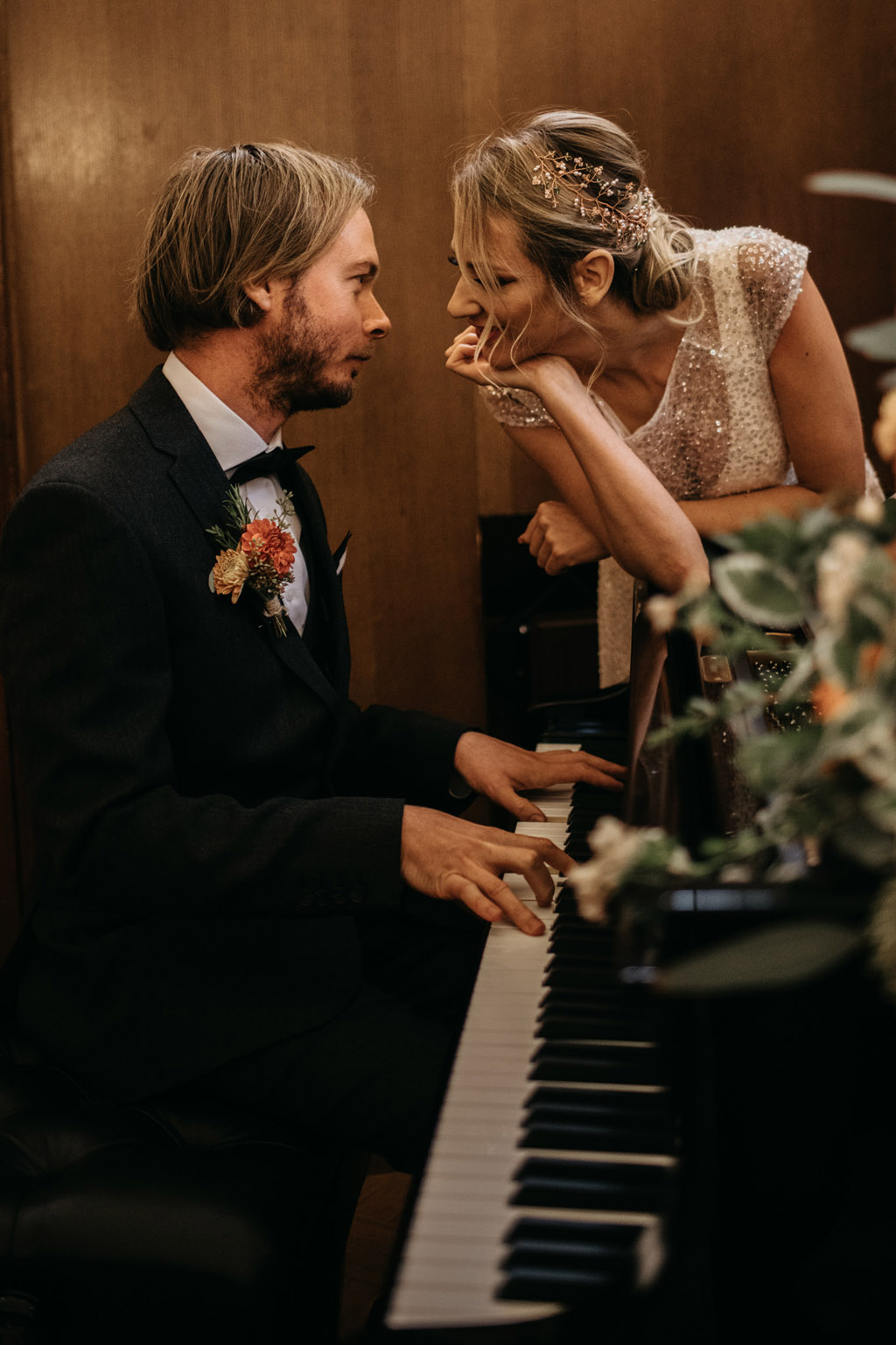 Traditional wedding inspiration with a modern twist, image credit Lottie Photography (29)