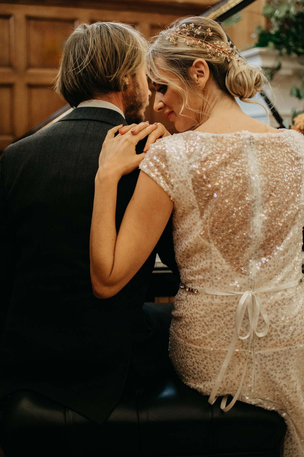 Traditional wedding inspiration with a modern twist, image credit Lottie Photography (30)