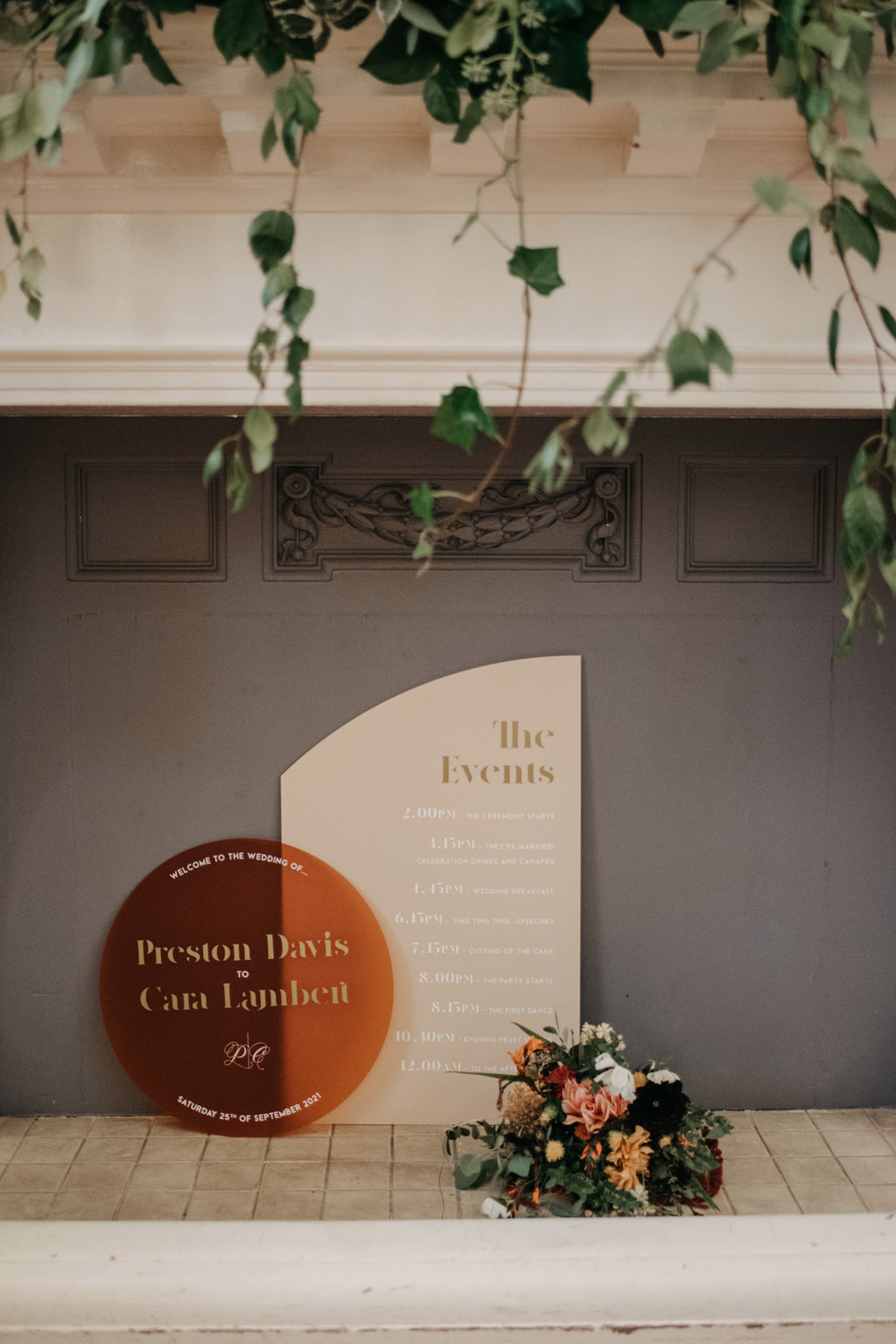 Traditional wedding inspiration with a modern twist, image credit Lottie Photography (33)
