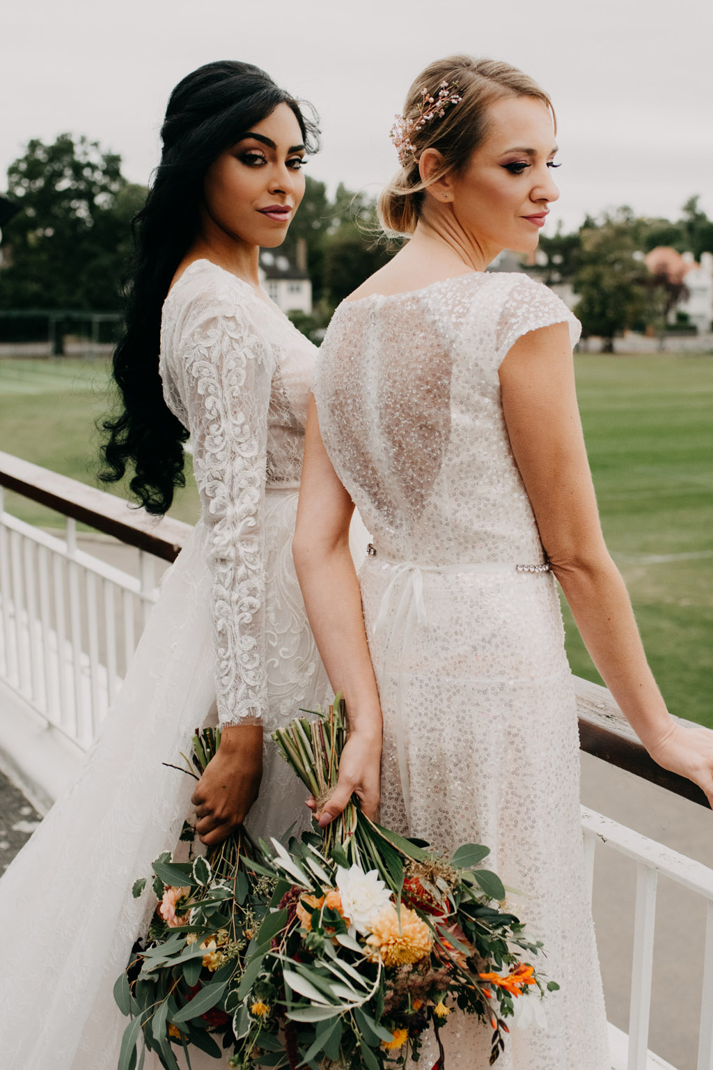 Traditional wedding inspiration with a modern twist, image credit Lottie Photography (36)