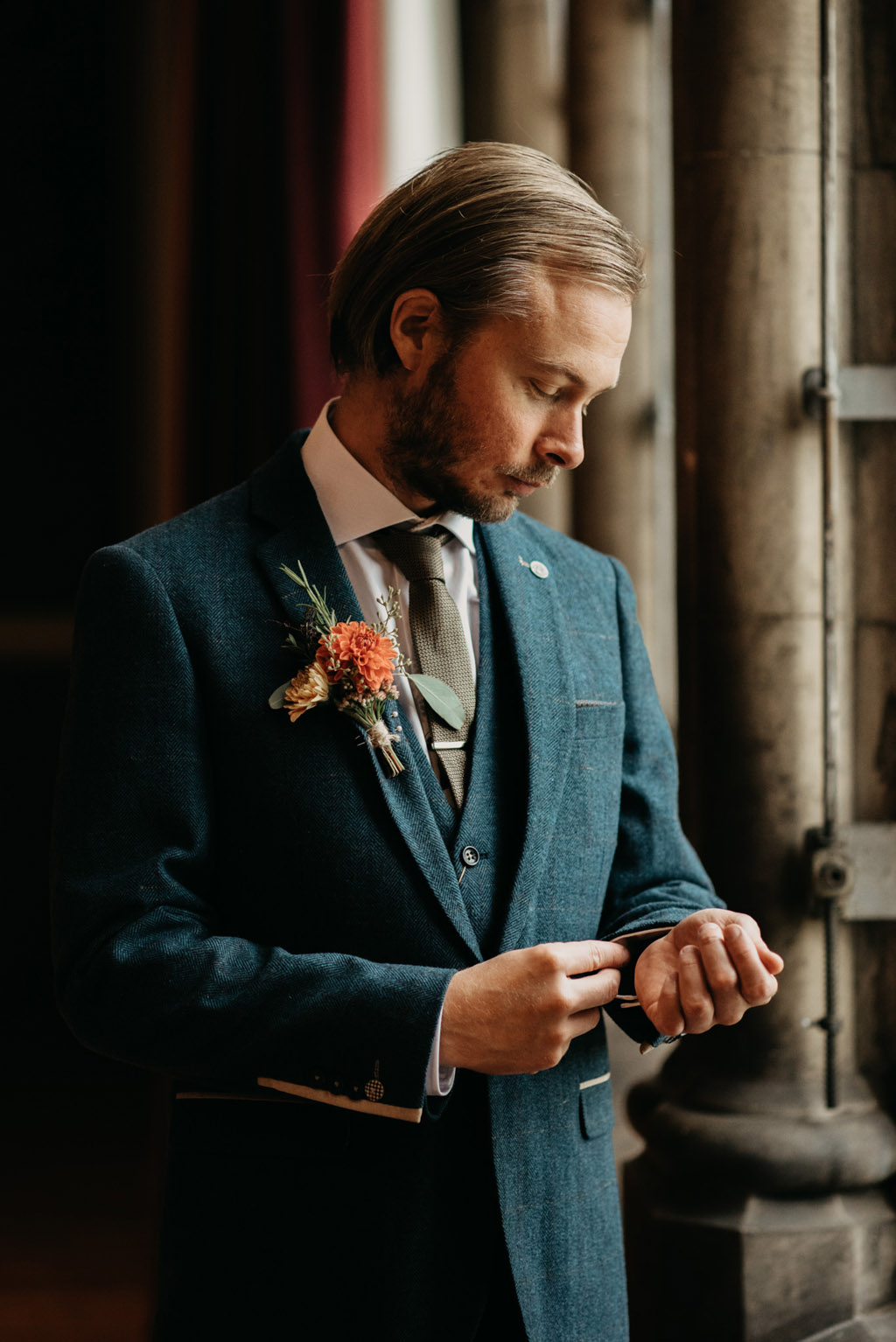 Traditional wedding inspiration with a modern twist, image credit Lottie Photography (41)