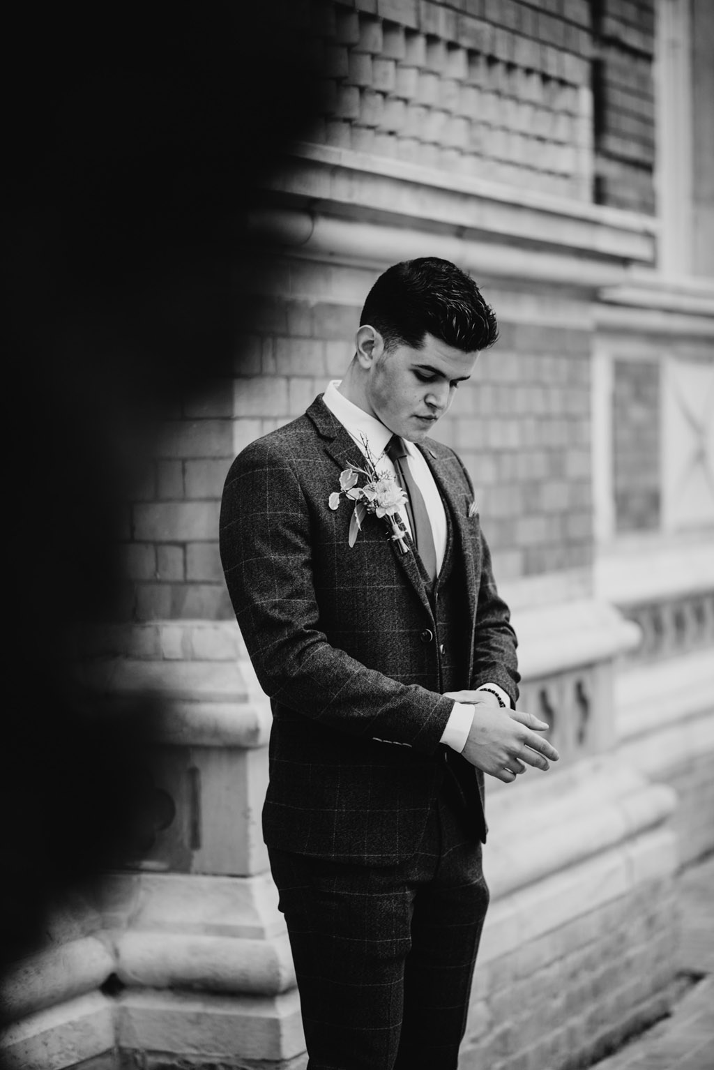 Traditional wedding inspiration with a modern twist, image credit Lottie Photography (42)