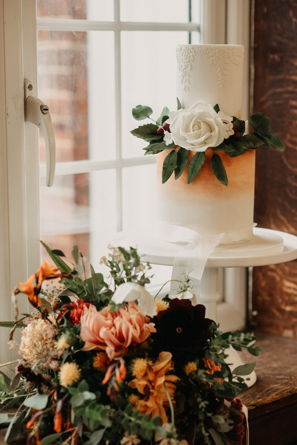 Traditional wedding inspiration with a modern twist, image credit Lottie Photography (44)