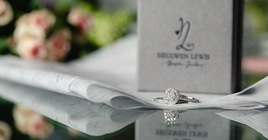 Bespoke wedding engagement rings by Heulwen Lewis