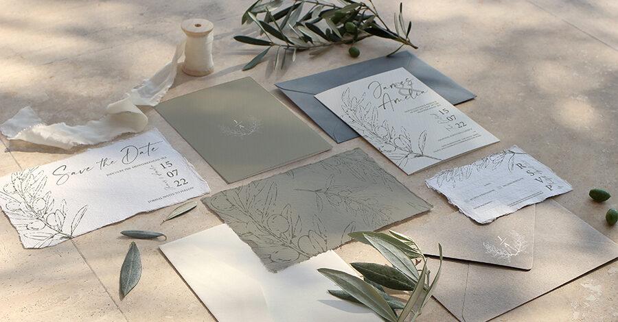 image credit Tlg Design wedding stationery nottingham