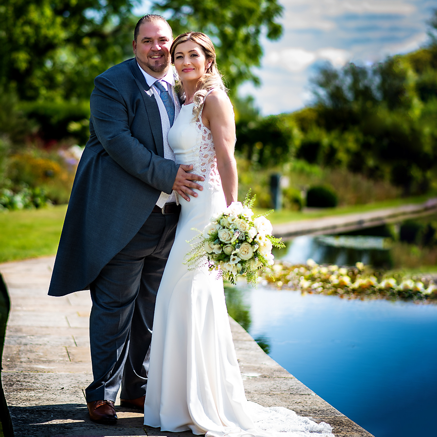 Real wedding at The Grove, captured by Helen Weir Photography