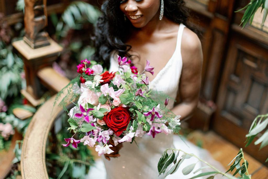 Forever Yours, a fabulously floral bridal shoot in Surrey with Tes Moments and Camilla J Hards Photography (19)
