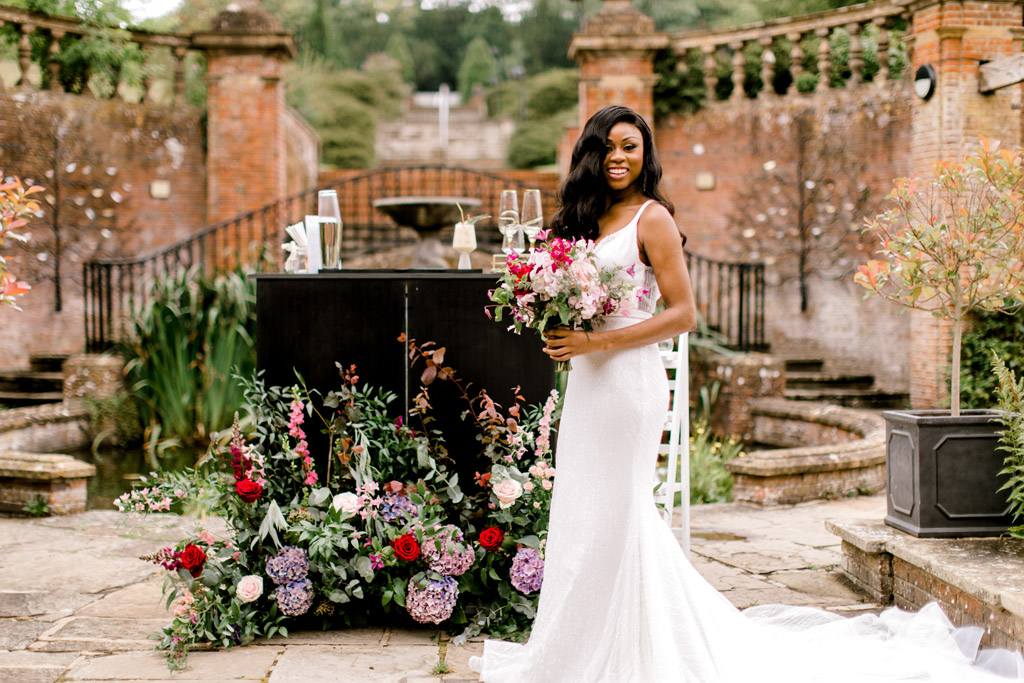 Forever Yours, a fabulously floral bridal shoot in Surrey with Tes Moments and Camilla J Hards Photography (32)