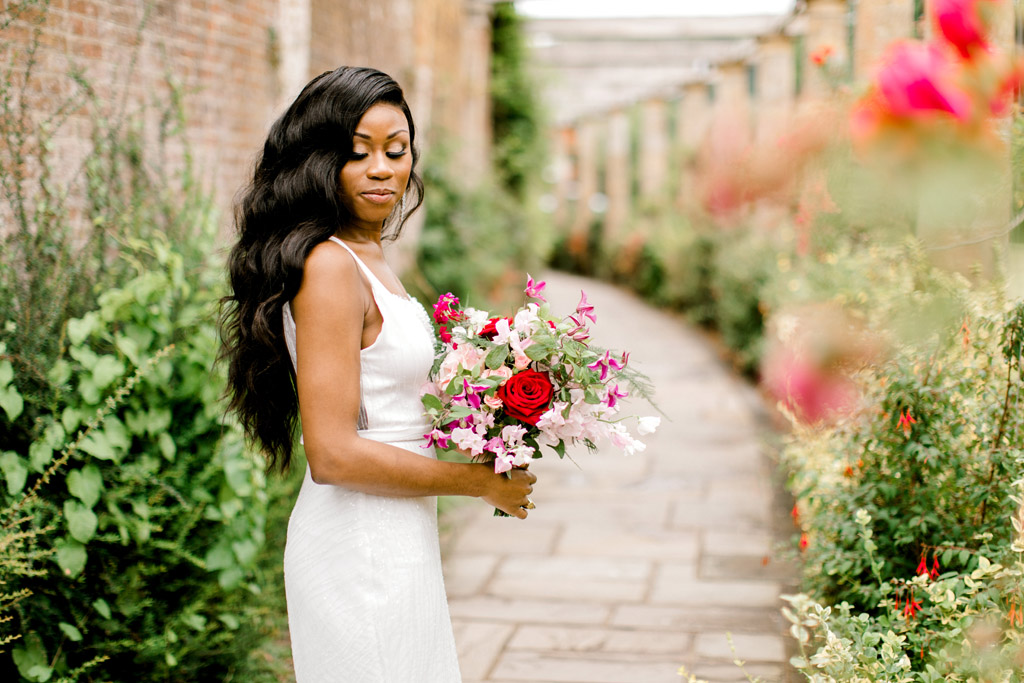Forever Yours, a fabulously floral bridal shoot in Surrey with Tes Moments and Camilla J Hards Photography (36)