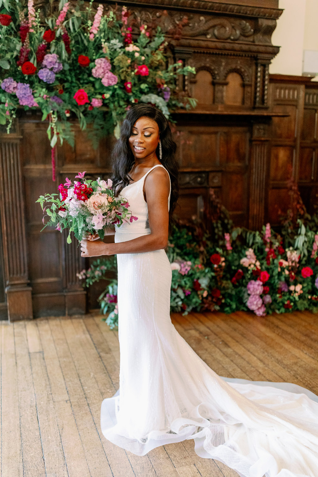 Forever Yours, a fabulously floral bridal shoot in Surrey with Tes Moments and Camilla J Hards Photography (42)