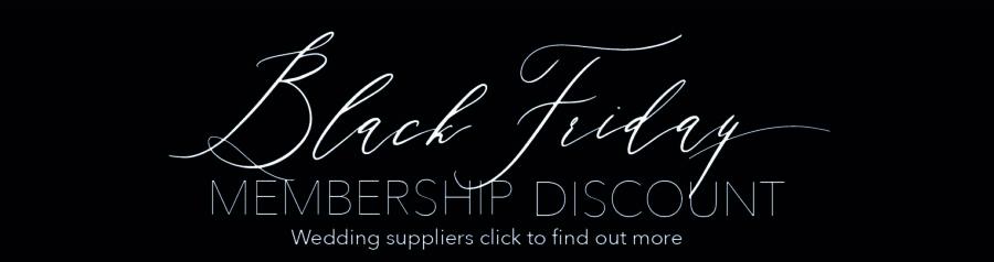 black friday wedding blog advertising offer