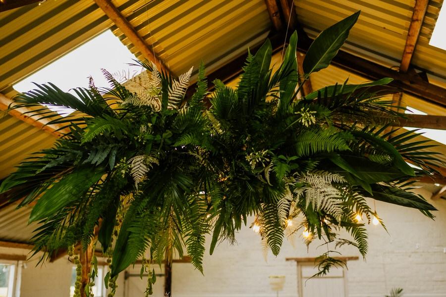 Free spirited modern jungle wedding inspiration at White Syke Fields, image credit Jenna Kathleen Photography (25)