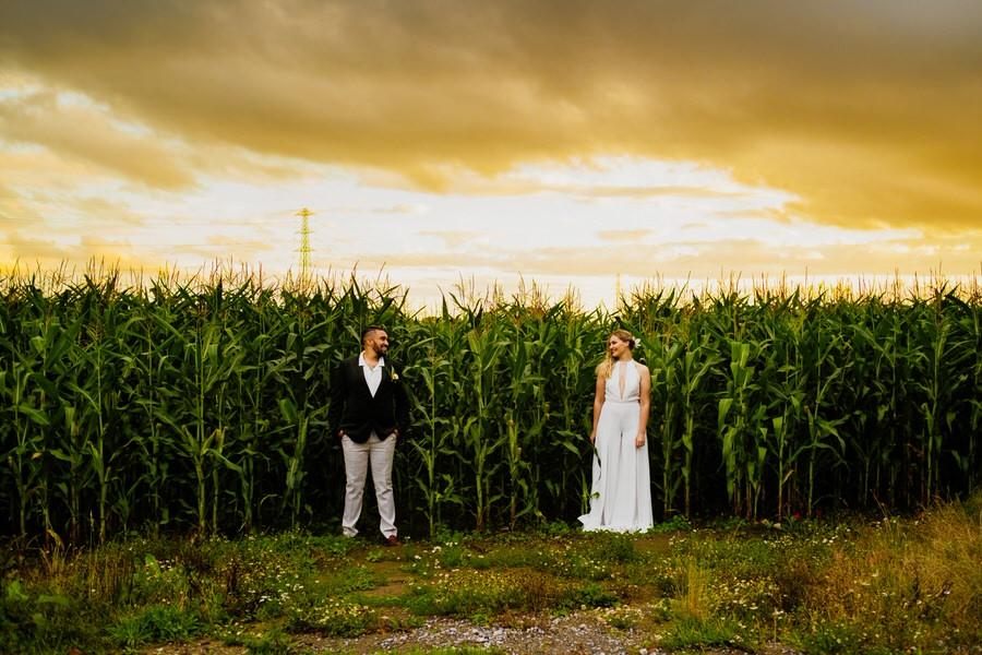 Free spirited modern jungle wedding inspiration at White Syke Fields, image credit Jenna Kathleen Photography (37)