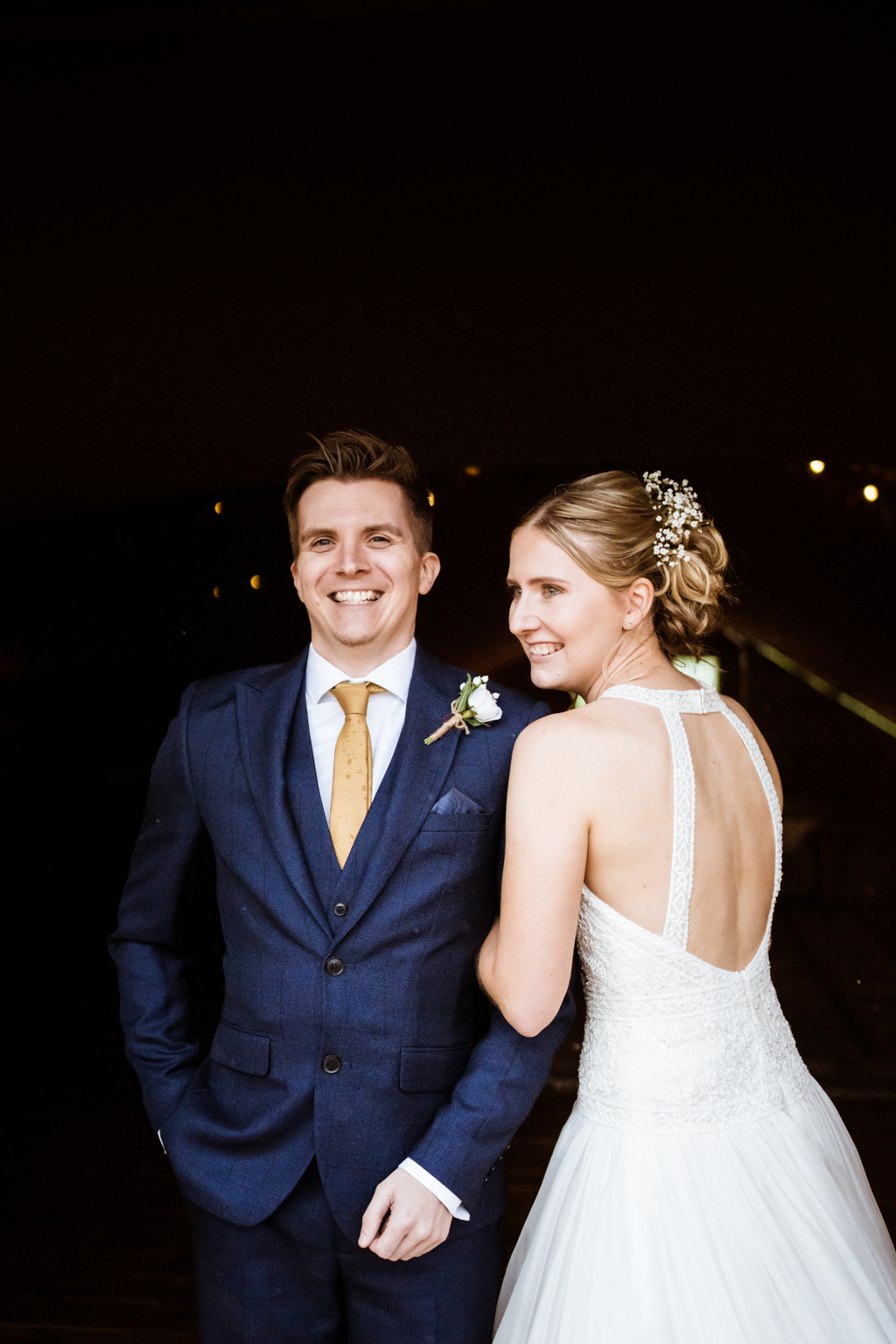 Sophie and Christopher's joyful, festive 2020 wedding at Jimmy's Farm, with Him & Her Wedding Photography (10)