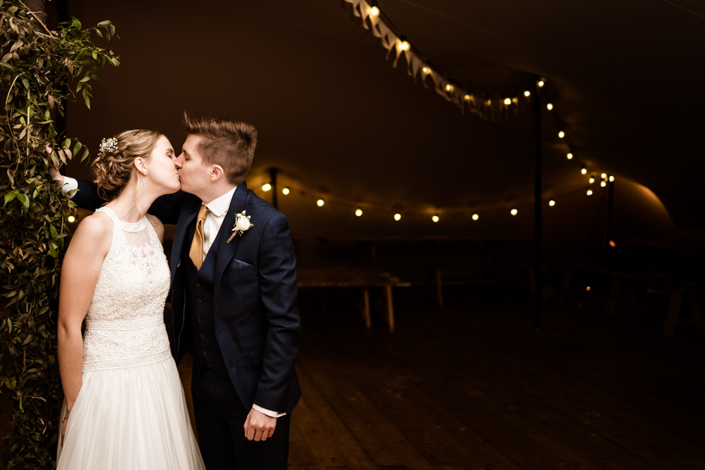 Sophie and Christopher's joyful, festive 2020 wedding at Jimmy's Farm, with Him & Her Wedding Photography (11)