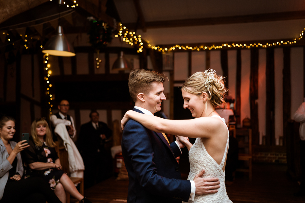 Sophie and Christopher's joyful, festive 2020 wedding at Jimmy's Farm, with Him & Her Wedding Photography (42)