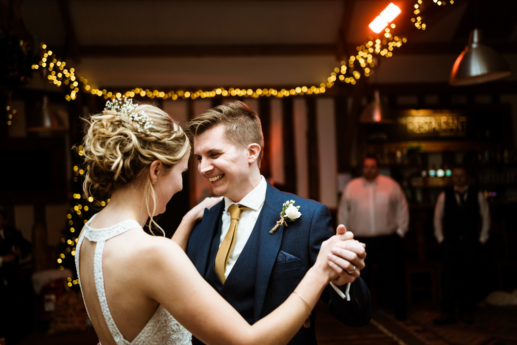 Sophie and Christopher's joyful, festive 2020 wedding at Jimmy's Farm, with Him & Her Wedding Photography (44)