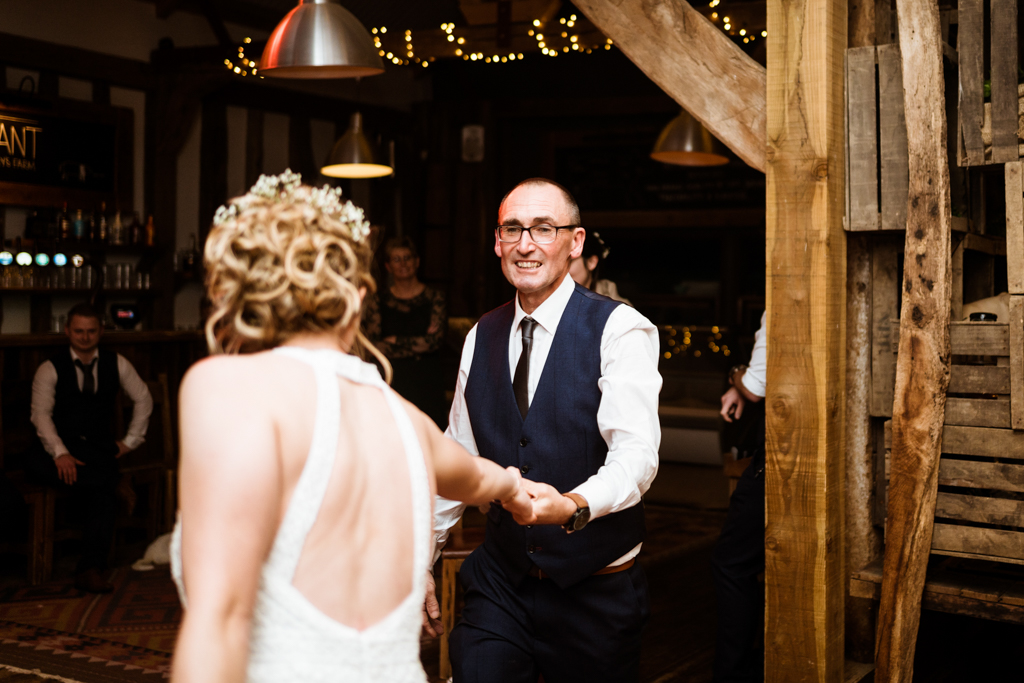 Sophie and Christopher's joyful, festive 2020 wedding at Jimmy's Farm, with Him & Her Wedding Photography (47)