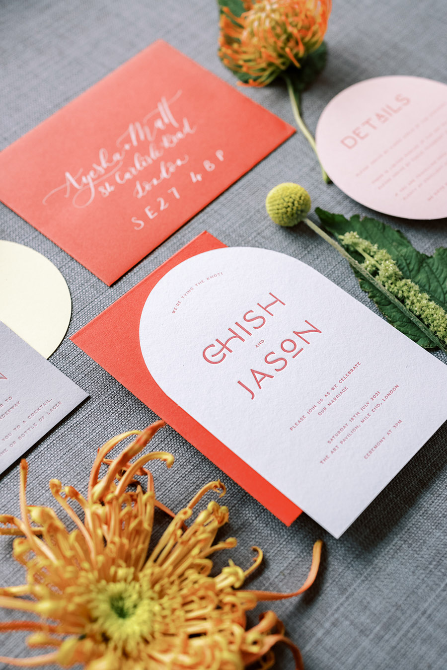 wedding stationery UK by Ink & Paper