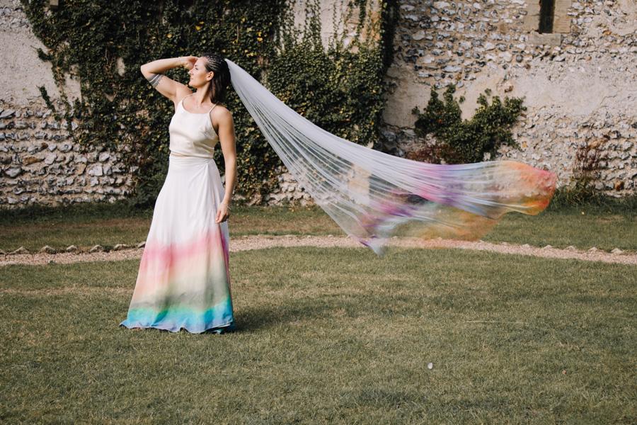 Rustic Rainbow - a joyful styled elopement in Kent (18)