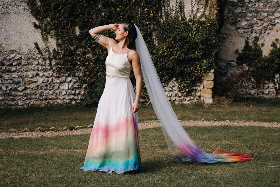 Rustic Rainbow - a joyful styled elopement in Kent (19)