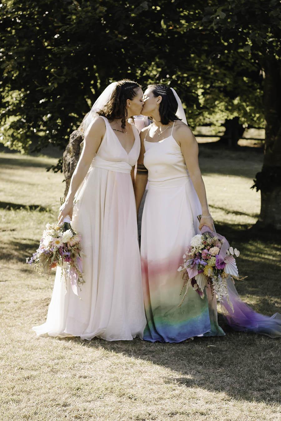 Rustic Rainbow - a joyful styled elopement in Kent (34)
