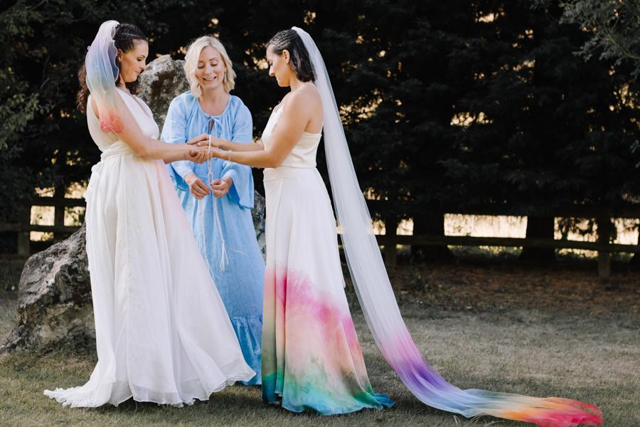 Rustic Rainbow - a joyful styled elopement in Kent (36)