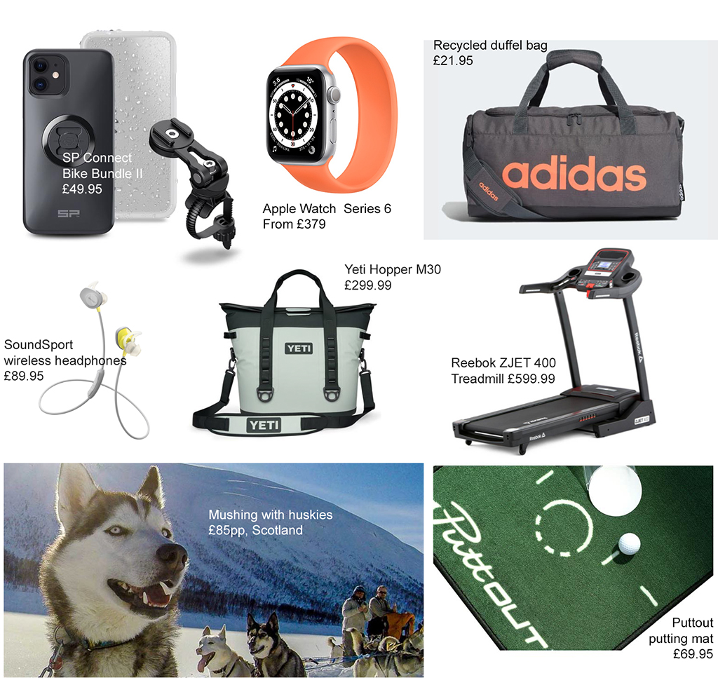 anniversary gift guide for adrenalin lovers