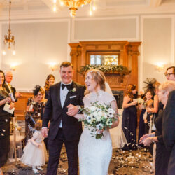 Rebecca & Tom's gloriously glamorous Andaz Hotel wedding, with Amanda Karen Photography