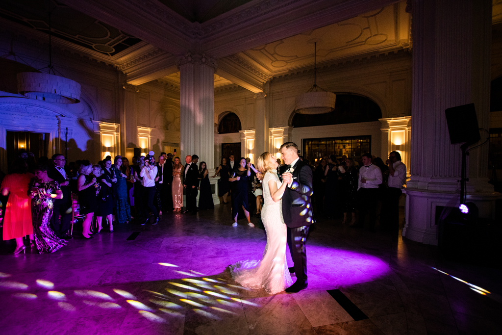Rebecca & Tom's gloriously glamorous Andaz Hotel wedding, with Amanda Karen Photography (3)
