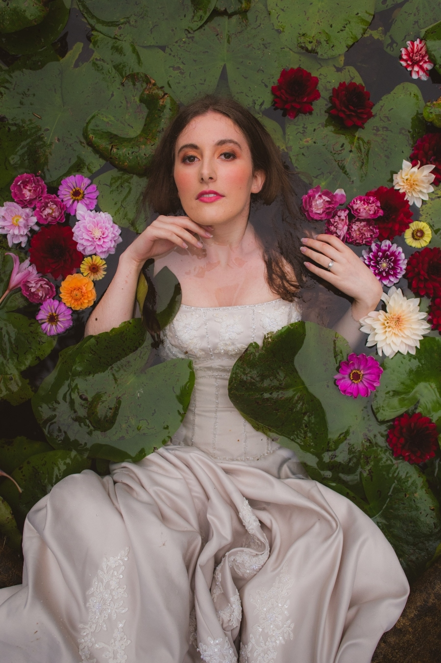 Ophelia – A Pre-Raphaelite Wedding, image credit Keith Bridle Photography (49)